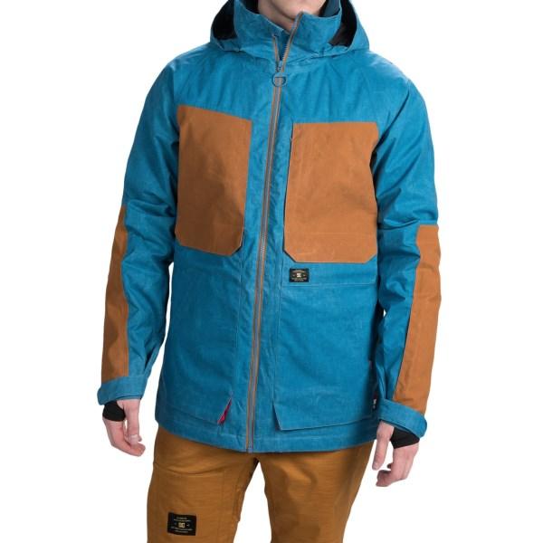 Echipament-sportiv Barbati DC Kingdom Snowboard Jacket - Waterproof Insulated FAIENCE (01)