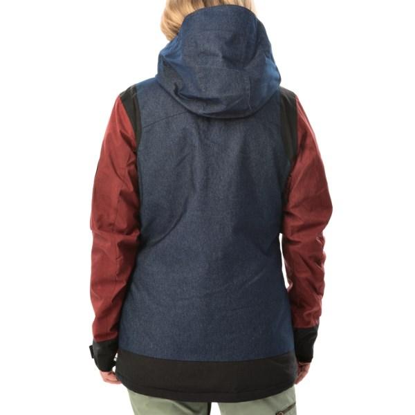 Echipament-sportiv Femei DC Truce SE Snowboard Jacket - Waterproof Insulated INDIGO DENIM (01)