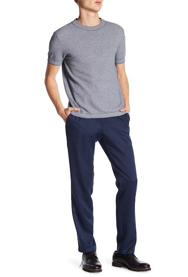 Imbracaminte Barbati Kenneth Cole Reaction Urban Heather Slim-Fit Flat Front Dress Pants - 29-34 Inseam BLUE