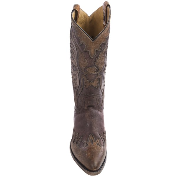 Incaltaminte Barbati Frye Billy Firebird Cowboy Boots - 13 Round Toe DARK BROWN (01)