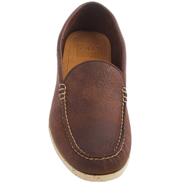 Incaltaminte Barbati Frye Mason Venetian Loafers - Elk Leather DARK BROWN (01)