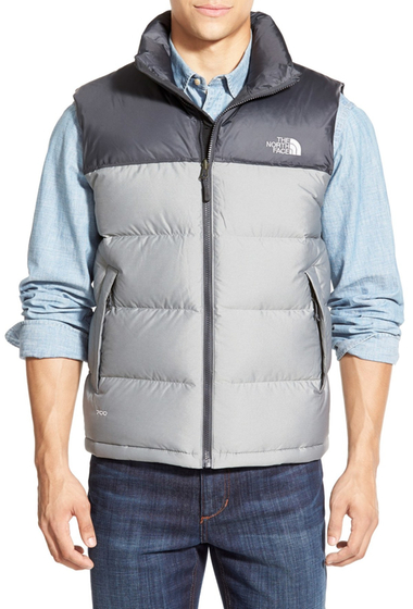 Imbracaminte Barbati The North Face Nuptse Vest HIGH RISE GREY HEATHER