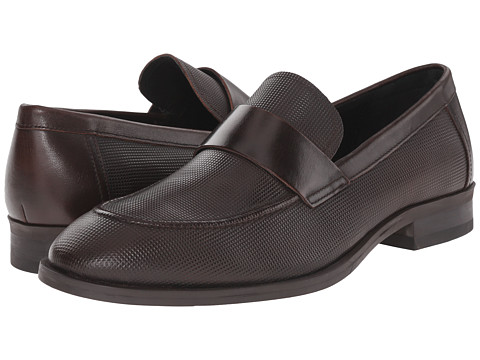 Incaltaminte Barbati Calvin Klein Sergio Brown Stud Emboss Leather