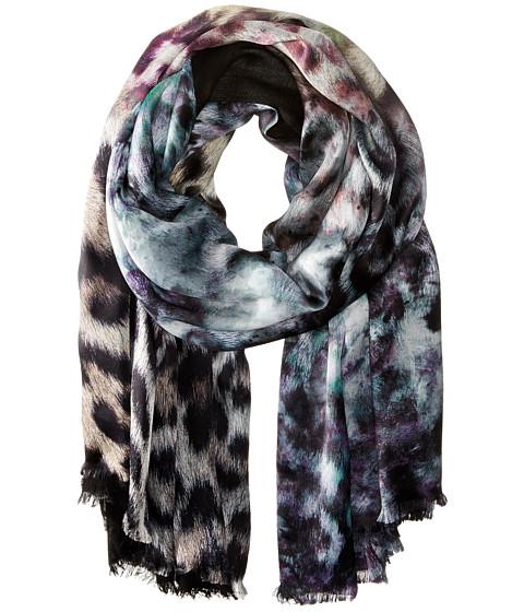 Accesorii Femei Echo Design Artist's Leopard Tubular Wrap Black