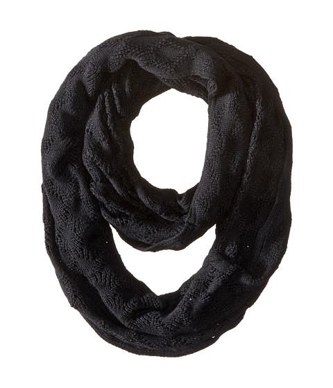 Accesorii Femei Echo Design Msoft Pointelle Infinity Ring Black