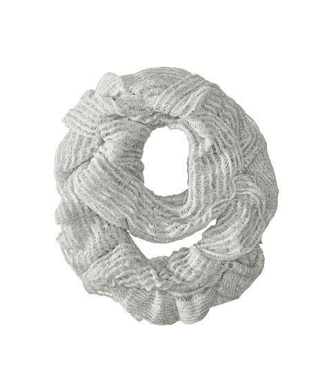 Accesorii Femei Echo Design Heathery Ruffle Infinity Ring Light Grey Heather