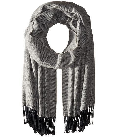 Accesorii Femei Echo Design Soft Crossdye Blanket Wrap Black