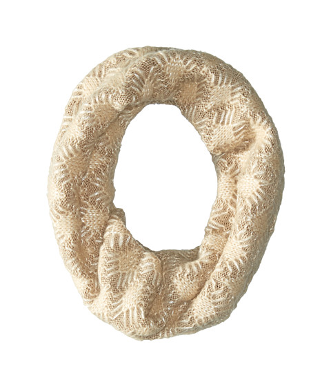 Accesorii Femei Echo Design Diamond Stitch Neckwarmer Oatmeal Heather