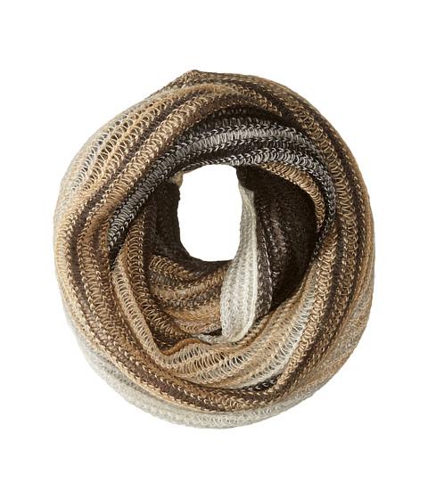 Accesorii Femei Echo Design Ombre Stripe Infinity Ring Black