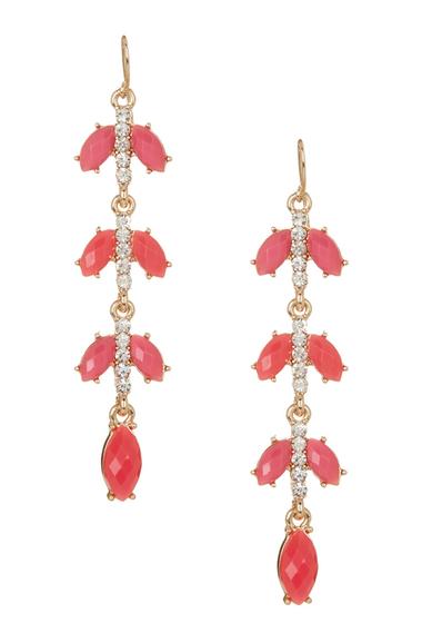Bijuterii Femei Natasha Accessories Linear Dangle Earrings PINK