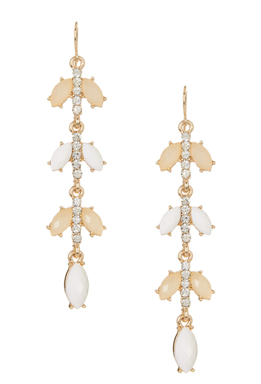Bijuterii Femei Natasha Accessories Linear Dangle Earrings NATURAL