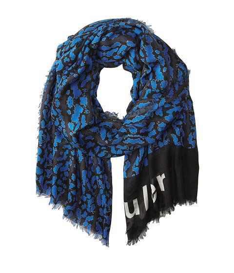 Accesorii Femei Proenza Schouler F00108 BSP102-20278 BlackElectric Blue Bug Print