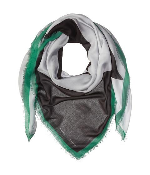 Accesorii Femei Proenza Schouler F00140 BSP102 - Houndstooth Print SmokeKelly Green