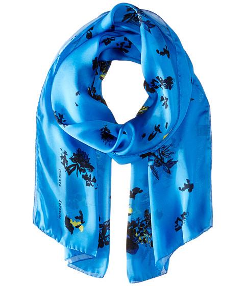 Accesorii Femei Proenza Schouler F00107 BSP107 21423 BlueYellow Floral Print