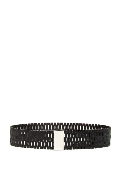Accesorii Femei Steve Madden Perforated Wide Belt BLACK
