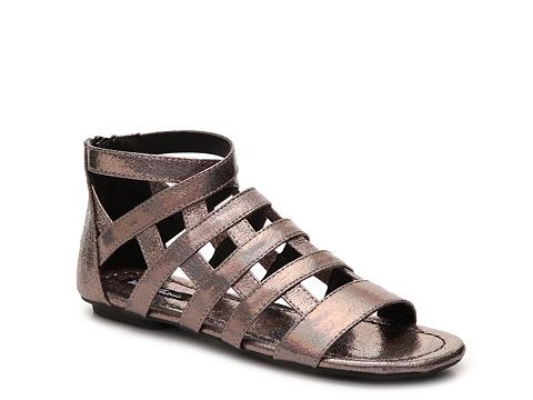 Incaltaminte Femei Michael Antonio Deron Gladiator Sandal Pewter