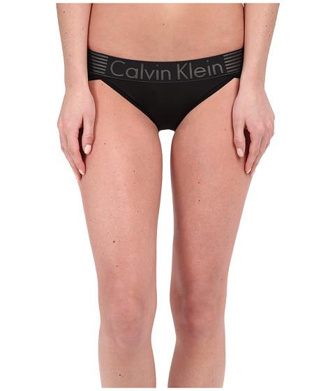 Imbracaminte Femei Calvin Klein Iron Strength Micro Bikini Black
