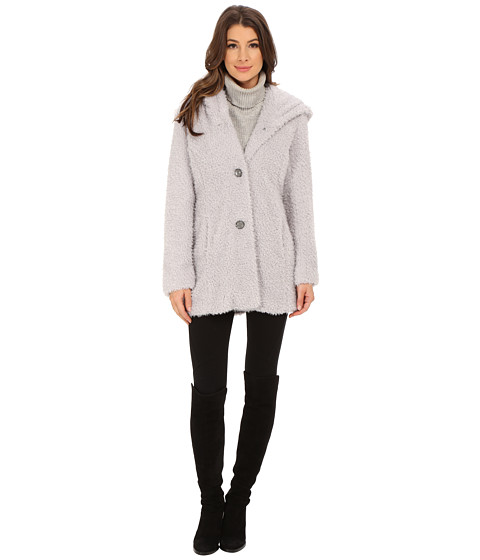Imbracaminte Femei Jessica Simpson Hooded Faux Fur Pewter