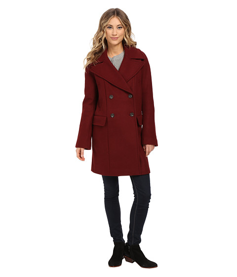 Imbracaminte Femei Vince Camuto Cacoon Wool Peacoat J8441 Oxblood