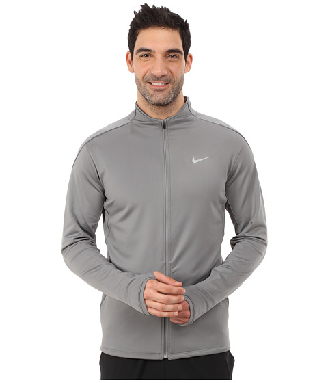 Imbracaminte Barbati Nike Dri-Fittrade Thermal Full-Zip Running Jacket Tumbled GreyReflective Silver