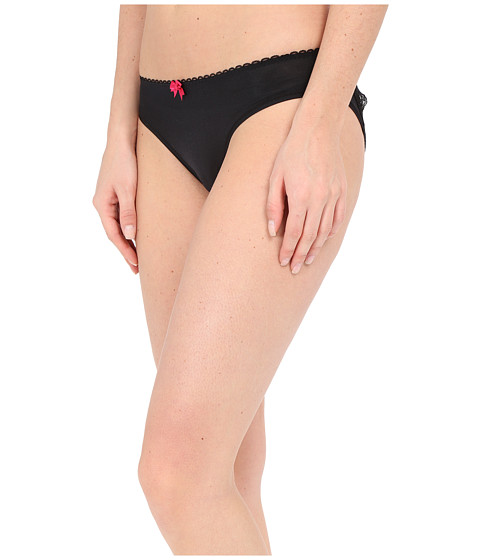 Imbracaminte Femei Betsey Johnson Cheeky Cut Out Bikini J1002 Black