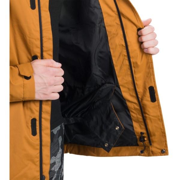 Echipament-sportiv Barbati DC Cash Only Snowboard Jacket - Waterproof CATHAY SPICE (01)