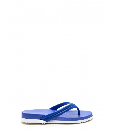 Incaltaminte Femei CheapChic Groove To These Jelly Thong Sandals Blue