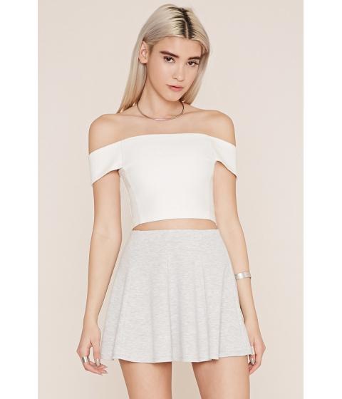 Imbracaminte Femei Forever21 Mini Skater Skirt Light heather grey
