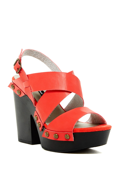 Incaltaminte Femei Michael Antonio Timid Heeled Sandal Red
