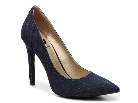 Incaltaminte Femei G by GUESS Felisity4 Denim Pump Light blue