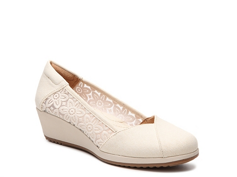 Incaltaminte Femei Naturalizer Bayview Wedge Pump White
