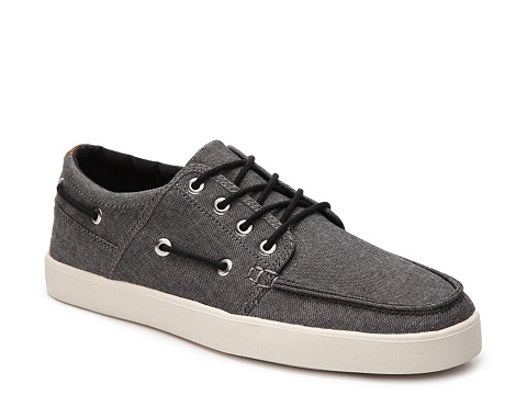Incaltaminte Barbati Crevo Covert Boat Shoe Charcoal
