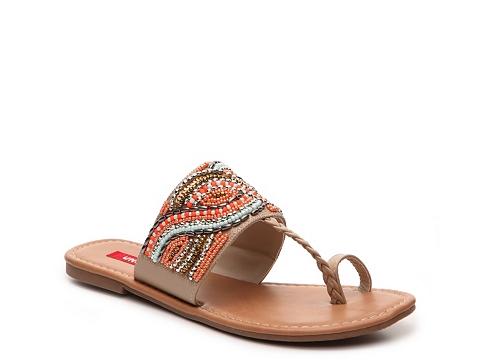 Incaltaminte Femei UNIONBAY Tyro Flat Sandal BeigeOrange