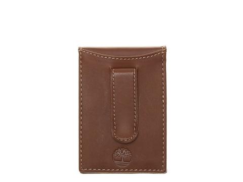Accesorii Barbati Timberland Timberland Hunter Flip Clip Leather Wallet Cognac