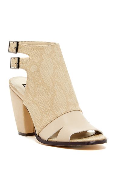 Incaltaminte Femei Michael Antonio Janise Heel Sandal Natural