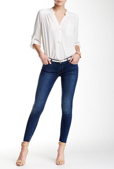 Imbracaminte Femei HUDSON Jeans Krista Ankle Super Skinny Jean MENDOCINO