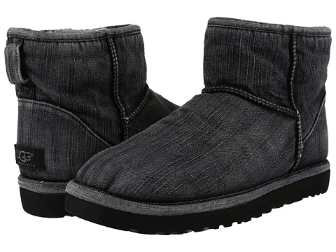 Incaltaminte Barbati UGG Classic Mini Washed Denim Black Denim