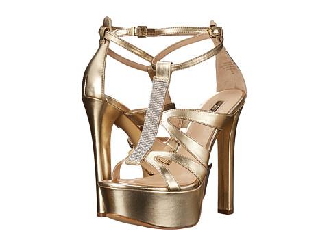 Incaltaminte Femei GUESS Davanda Gold Leather