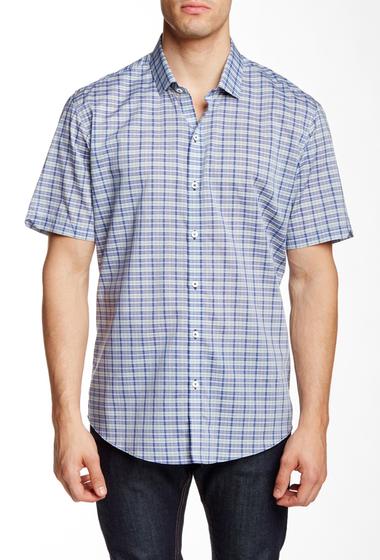 Imbracaminte Barbati Zachary Prell Chrisler Short Sleeve Trim Fit Shirt GREEN