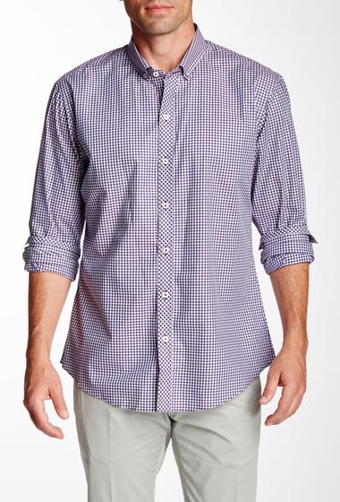 Imbracaminte Barbati Zachary Prell Block Long Sleeve Trim Fit Shirt PURPLE