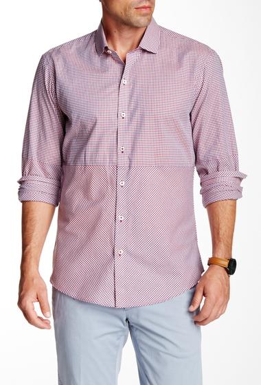Imbracaminte Barbati Zachary Prell Julian Long Sleeve Trim Fit Shirt DK NAVY