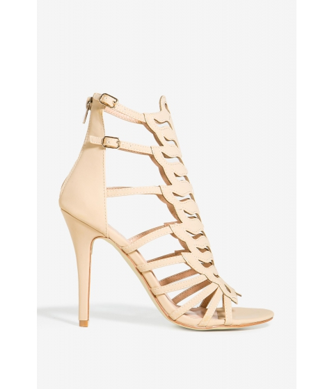 Incaltaminte Femei CheapChic Charlie-128 Break It Down Heel Nude