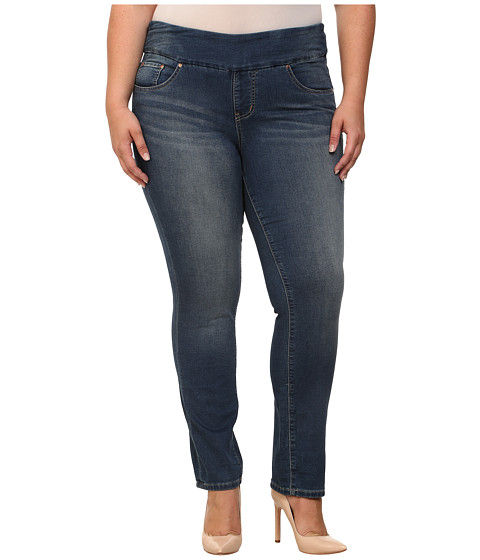 Imbracaminte Femei Jag Jeans Plus Size Nora Skinny Knit Denim Forever Blue