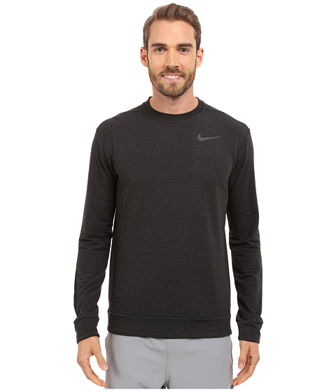 Imbracaminte Barbati Nike Dri-FITtrade Fleece Crew Training Shirt BlackBlack