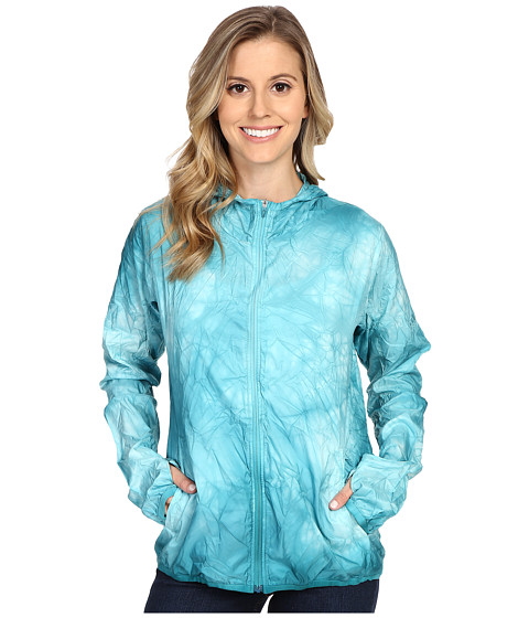 Imbracaminte Femei adidas Kanoi Runpack Dye Jacket Shock Green