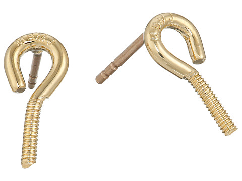 Bijuterii Femei Marc by Marc Jacobs Screw It Screw Hook Stud Earrings Oro