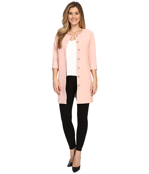 Imbracaminte Femei NYDJ Textured Topper Coat Rosewater
