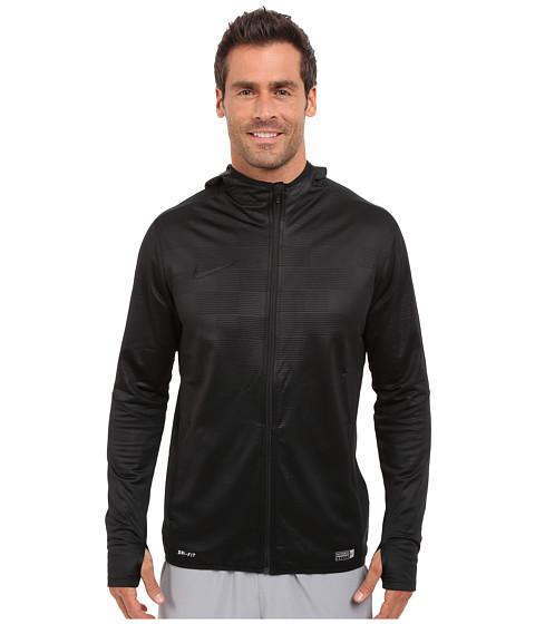Imbracaminte Barbati Nike Graphic Knit II Full-Zip Soccer Hoodie BlackBlackBlack