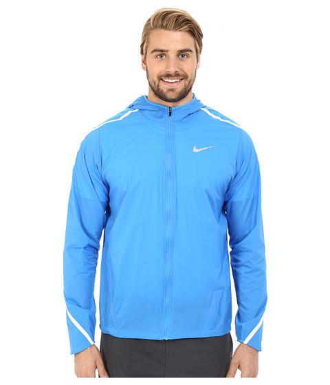 Imbracaminte Barbati Nike Impossibly Light Hooded Jacket Light Photo BlueWhiteReflective Silver