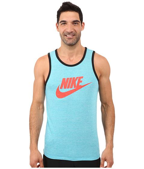 Imbracaminte Barbati Nike Ace Logo Tank Top Energy HeatherBlackLight Crimson